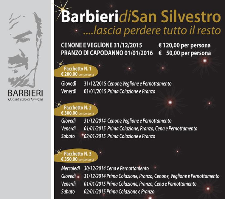 Capodanno Barbieri Altomonte